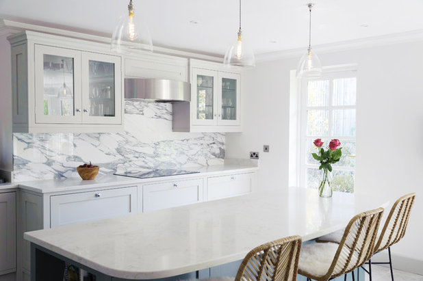 Transitional Kitchen by Nicky Percival Limited