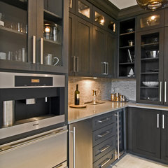 modern kitchen by James Traynor Custom Homes