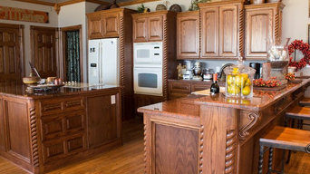 Completed Custom Cabinets