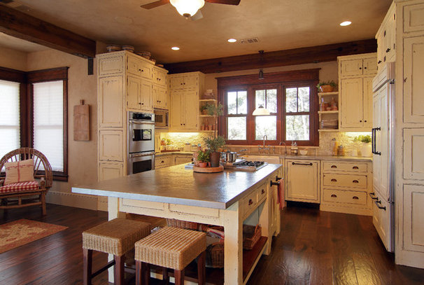 Rustic Kitchen by Design Visions of Austin