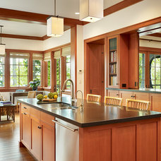 Traditional Kitchen by Conard Romano Architects