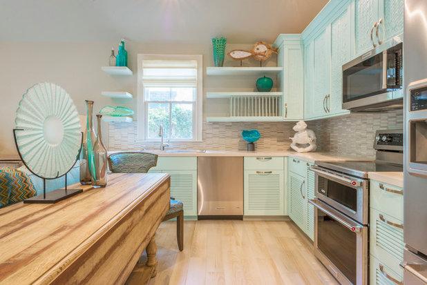 Coastal Kitchen by David L. Smith Interiors
