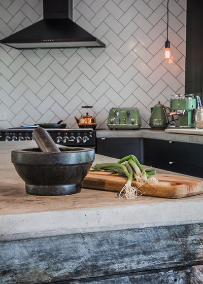Eclectic Kitchen by Adrian Ramsay Design House