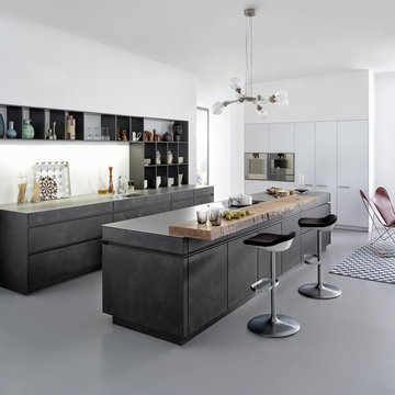 Concrete Cabinets - Industrial Chic