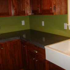 Traditional Kitchen by Decorative Concrete of Virginia
