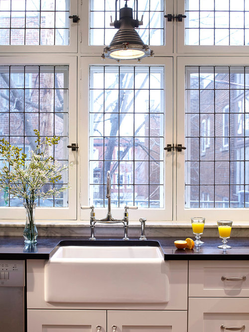 Casement window over sink home design ideas pictures for House plans with kitchen sink window
