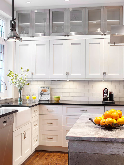 Double stack cabinets houzz - Houzz cuisine ...