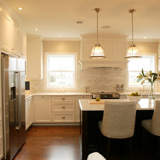 Traditional Kitchen by AKB Design