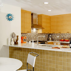 Contemporary Kitchen by Claudia Martin, ASID