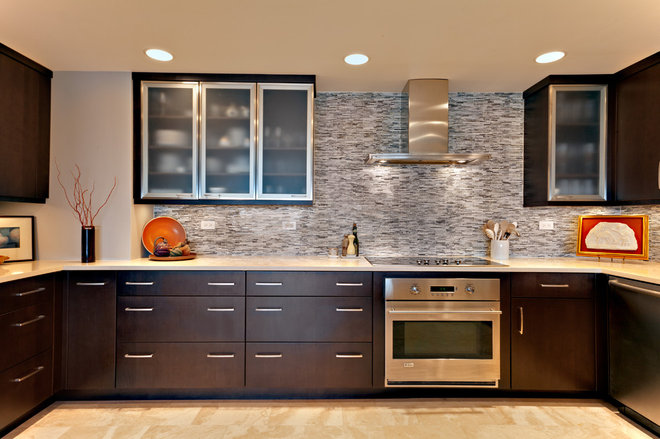 Contemporary Kitchen by Hermitage Kitchen Design Gallery