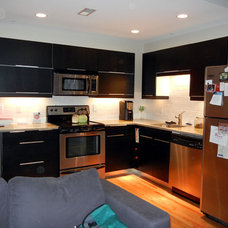 Modern Kitchen by Becky Shankle