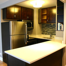 Contemporary Kitchen by 123 Remodeling Inc.