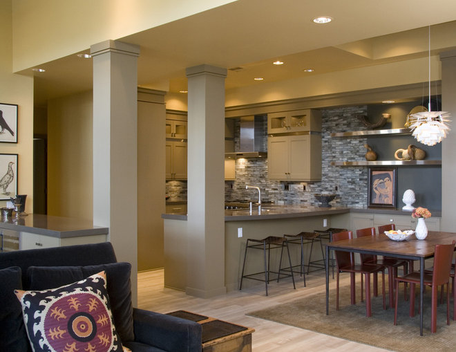 Eclectic Kitchen by The Neil Kelly Company