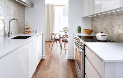 Best of the Week: 29 Gorgeous Galley Kitchens Worldwide