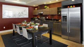 Condominium Interiors - Kitchens