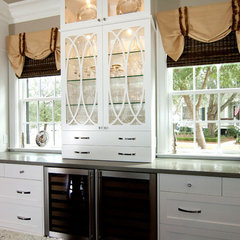 traditional kitchen by Zimmerman Interiors