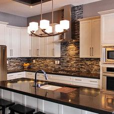 Contemporary Kitchen by Larkaun Homes LTD