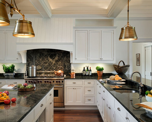 Black Granite Kitchen Ideas, Pictures, Remodel and Decor