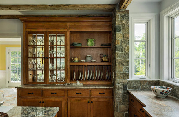 American Traditional Kitchen by Crisp Architects