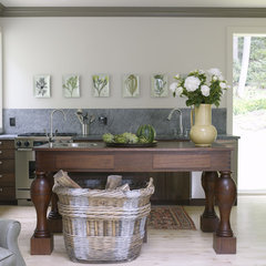 eclectic kitchen by Dufner Heighes Inc