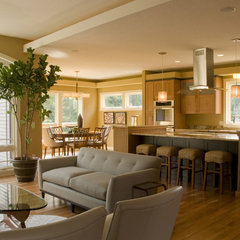contemporary kitchen by Jim Kuiken Design