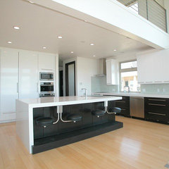 contemporary kitchen by Upland Development, Inc.