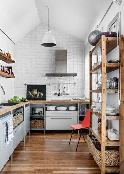 インダストリアル キッチン Contemporáneo Cocina