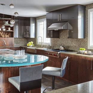 Trendy kitchen photo in Chicago
