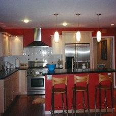 Contemporary Kitchen by Marina V. Phillips