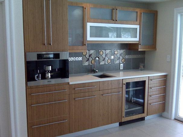 Contemporary Kitchen by Eileen Kollias Design