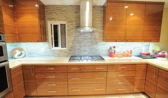 Contemporary Bamboo Kitchen - Weeks Residence