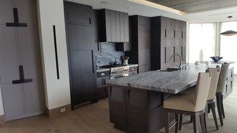 Contemporary Bayside Kitchen