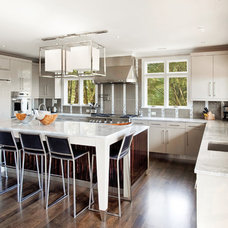 Contemporary Kitchen by K & K Custom Cabinets LLC