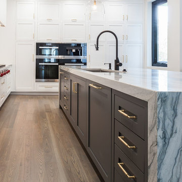 Contemporary Cabinetry in New Construction Home
