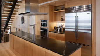 Contemporary Cabinetry that Goes Against the Grain