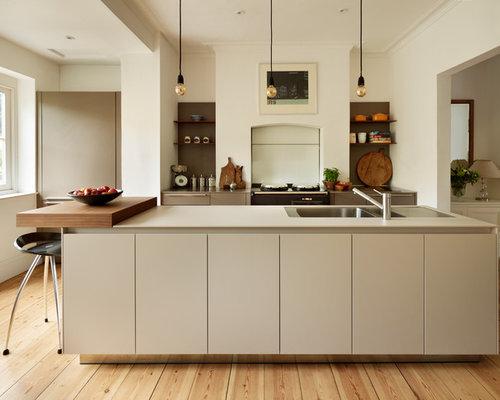 Greige Kitchen Houzz