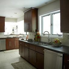 Contemporary Kitchen by Randi Destefano, ASID