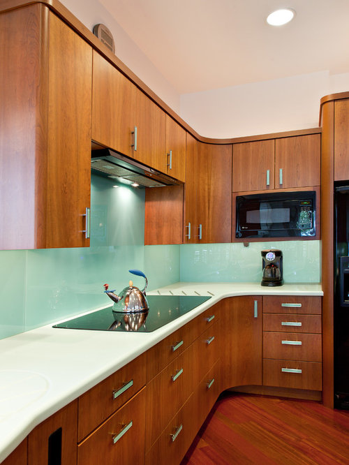 Mint Green Backsplash Houzz