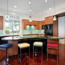 Contemporary Kitchen by Tyner Construction Co Inc