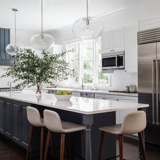 75 Beautiful Kitchen With Mosaic Tile Backsplash Pictures Ideas January 2021 Houzz