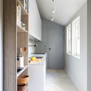 Contemporary Compact Kitchen, Edinburgh
