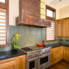 Contemporary Kitchen by Kirsti Wolfe Designs