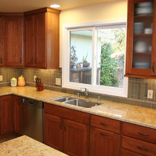 Contemporary Kitchen by Laurie Lile Designs