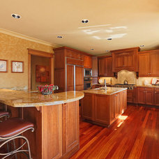 Transitional Kitchen by Cutuli Homes