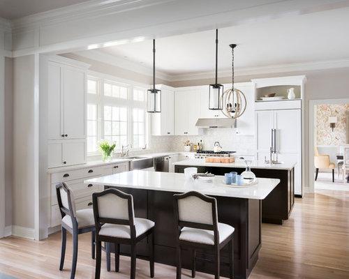 Top 100 White Kitchen Ideas & Designs | Houzz