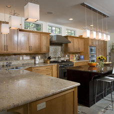 Contemporary Kitchen by Alan Kosa Interiors