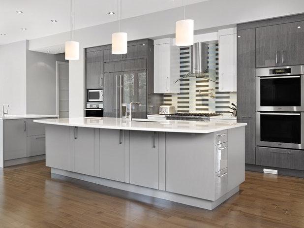 Contemporary Kitchen by Cucina Bella Ltd. - Rebecca Gagne CKD
