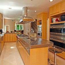 Contemporary Kitchen by Libby Ferraro Interior Design