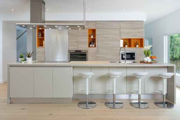 New This Week: Try Contemporary Style for a Bright, Airy Kitchen