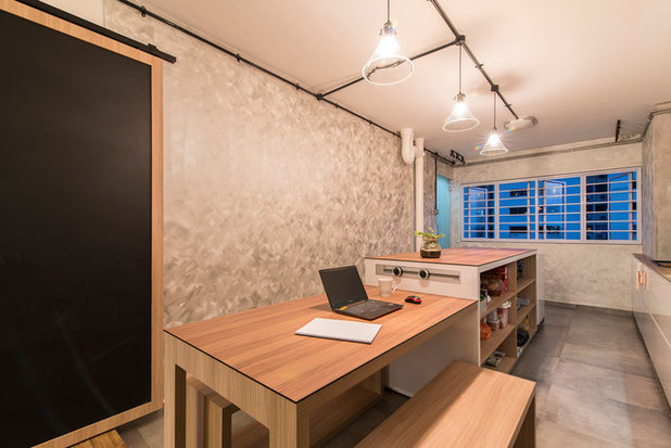 Contemporary Kitchen by Ace Space Design